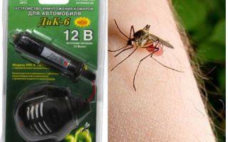 Mosquito repellent automašīnā