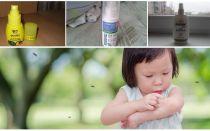Efektīvi līdzekļi odiem bērniem no 1 gada