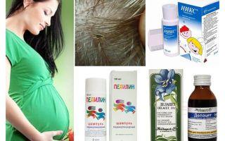 Kā ārstēt pedikulozi grūtniecības un zīdīšanas laikā