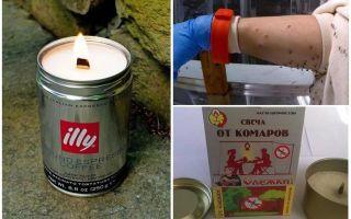 Moskītu sveces